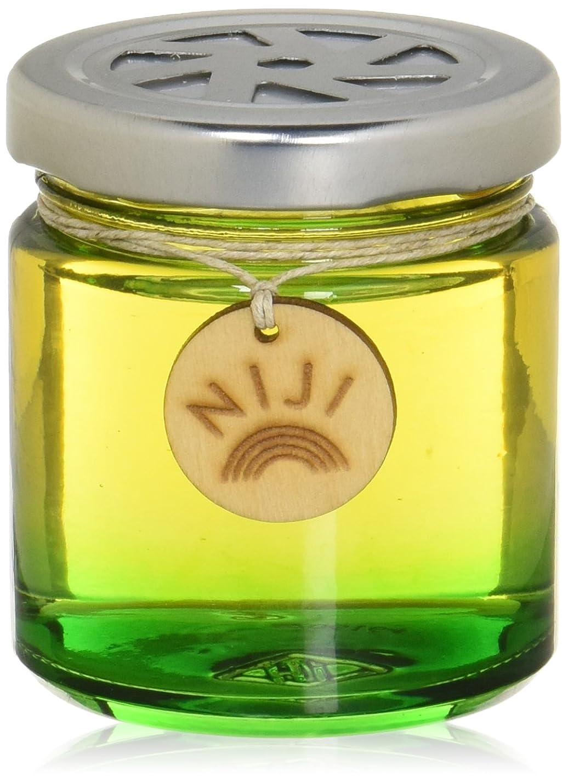 バイオリン付属品マッサージNIJI(ニジ) フレグランスゲル(芳香剤) グリーンフラッシュ 90g