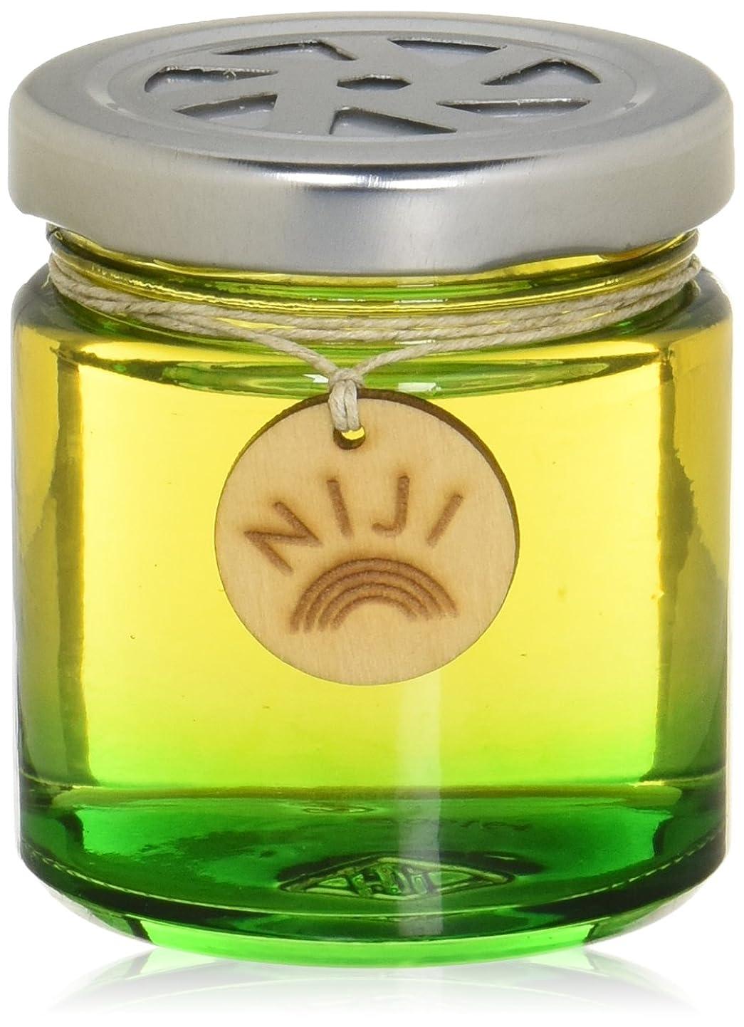 無知鉄荷物NIJI(ニジ) フレグランスゲル(芳香剤) グリーンフラッシュ 90g