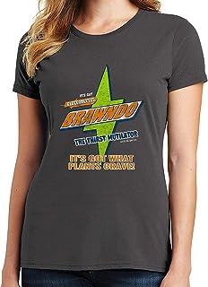 RHEYJQA Brawndo Women's T-Shirt Distressed It's Got Electrolytes, It's Got What Plants Crave
