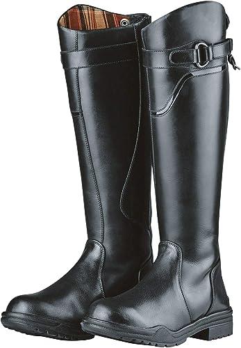 Dublin - botas de Montar de Piel Modelo Calton de   Ancha para Adultos Unisex