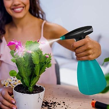 DASLAVA Electric Exquisite Mister Sprayer Watering Can 1000ML Bottle for Indoor Outdoor Garden Plant Mushroom Caring Device 8