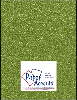 Accent Design Paper Accents ADP8511-25.55522 No.80 8.5 x 11 Evergreen Canvas Card Stock Card Stock Home & Kitchen