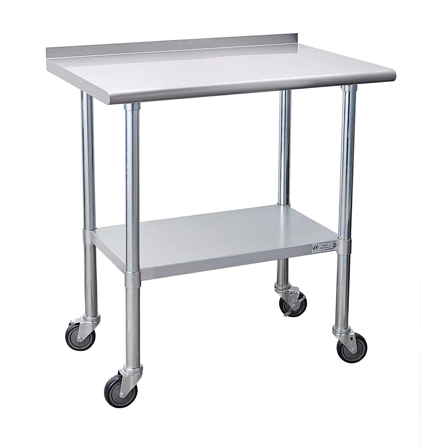 Stainless Steel Today's only Table Limited price for Prep Work Inches x Caster 36 24 with