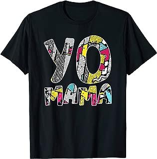 Yo Mama Tshirt. Funny 1990s Throwback Hip Hop Party T-Shirt