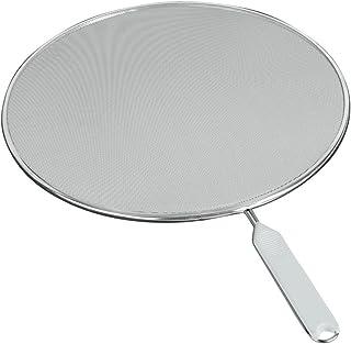 Metaltex 206129 Anti-Éclaboussures Fritto 29cm en Conserve, Acier Inoxydable, Argent, 5 cm