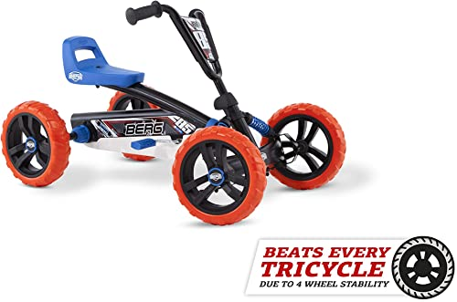 Berg Pedal Car Buzzy Nitro | Pedal Go Kart, Ride On Toys for Boys and Girls, Go Kart, Toddler Ride on Toys, Outdoor T...