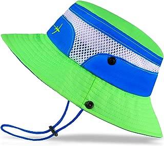 bright green bucket hat