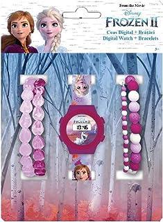 Set Reloj Digital + Pulseras Frozen 2