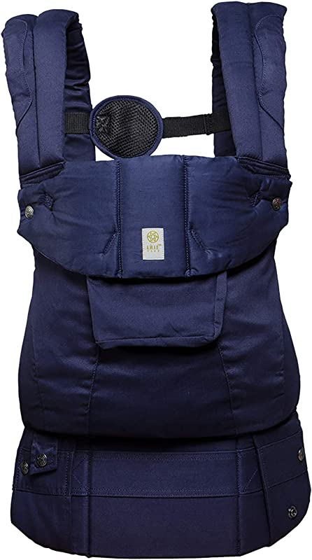 L LL Baby The Complete Organi Touch SIX Position 360 Ergonomic Baby Child Carrier Blue Moonlight Organic Cotton Baby Carrier