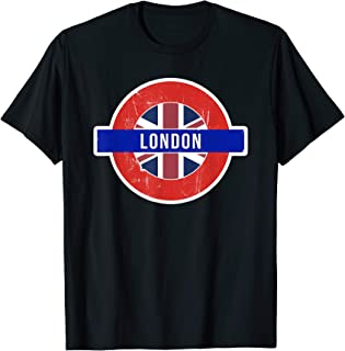 London UK T-shirt - Fun English / British City Travel Gift