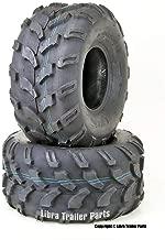 Set of 2 WANDA ATV Tires 20X9.50-8 20X9.5X8 4PR