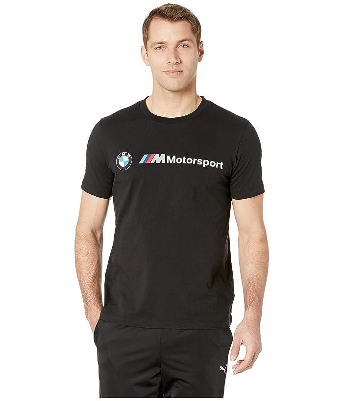 PUMA BMW MMS Logo Tee (PUMA Black) Men