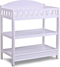 Delta Children Infant Changing Table with Pad, White