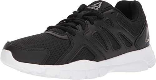 Reebok Men's Trainfusion Nine 3.0 Cross Trainer, negro blanco Pewter, 13 M US