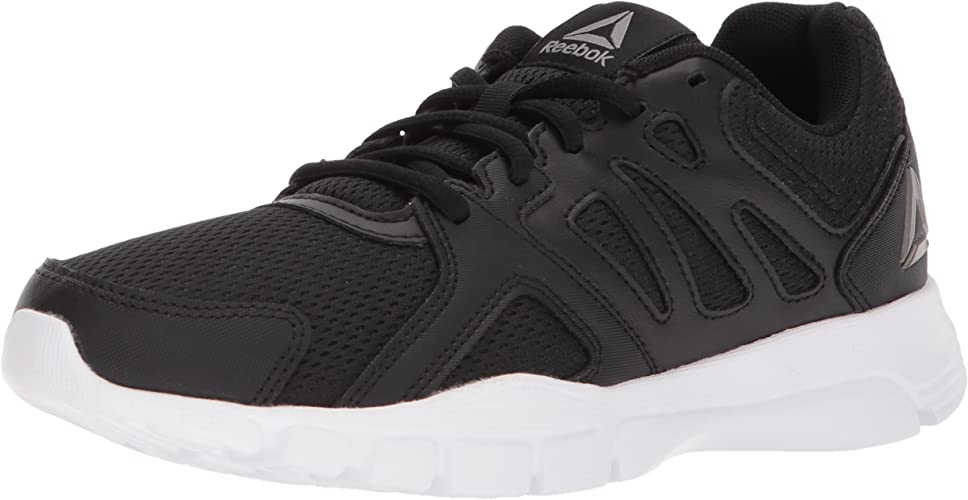 Reebok Hommes's Trainfusion Nine 3.0 Cross Trainer, noir blanc Pewter, 11 M US