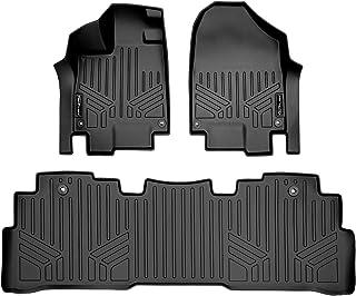 MAXLINER Floor Mats 2 Row Liner Set Black Compatible with 2018-2022 Honda Odyssey (All Models)