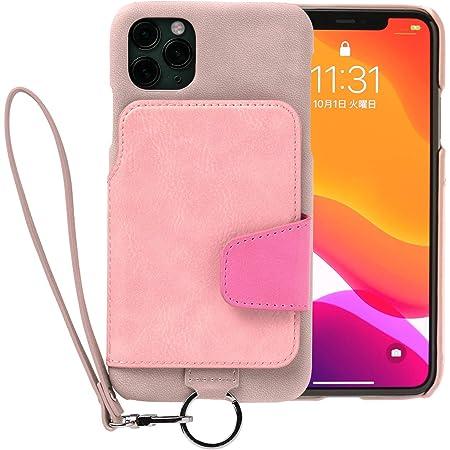 トーモ RAKUNI Soft Leather Case for iPhone 11 Pro Max rak-19ipl-ppnk スモーキーピンク