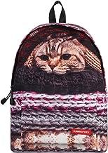 JKPUDUN School Bags for Teenagers Boys Girls Children Students Backpacks Casual Camping Trip Laptop Daypack for Women (Cat B)