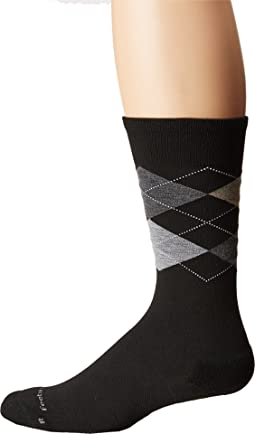Argyle Cushion Crew Sock