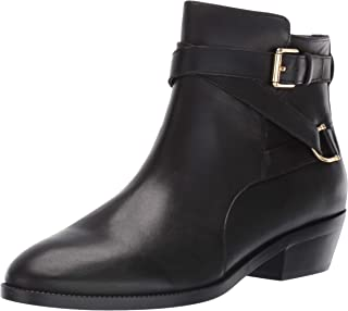 Lauren Ralph Lauren Women's Egerton Ankle Boot, Black, 8.5 B US
