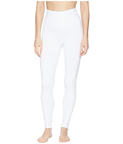 ALO High Waist Airbrushed Leggings (White) Women