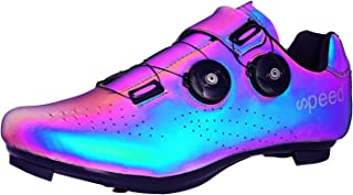 SWISSWELL Men's Road Cycling Shoes Compatible Mountain Bike with SPD/SPD-SL & Fast Rotating Buckle