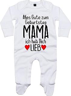 Pijama para bebé con Texto en alemán Alles Gute Mama ich hab Dich Lieb