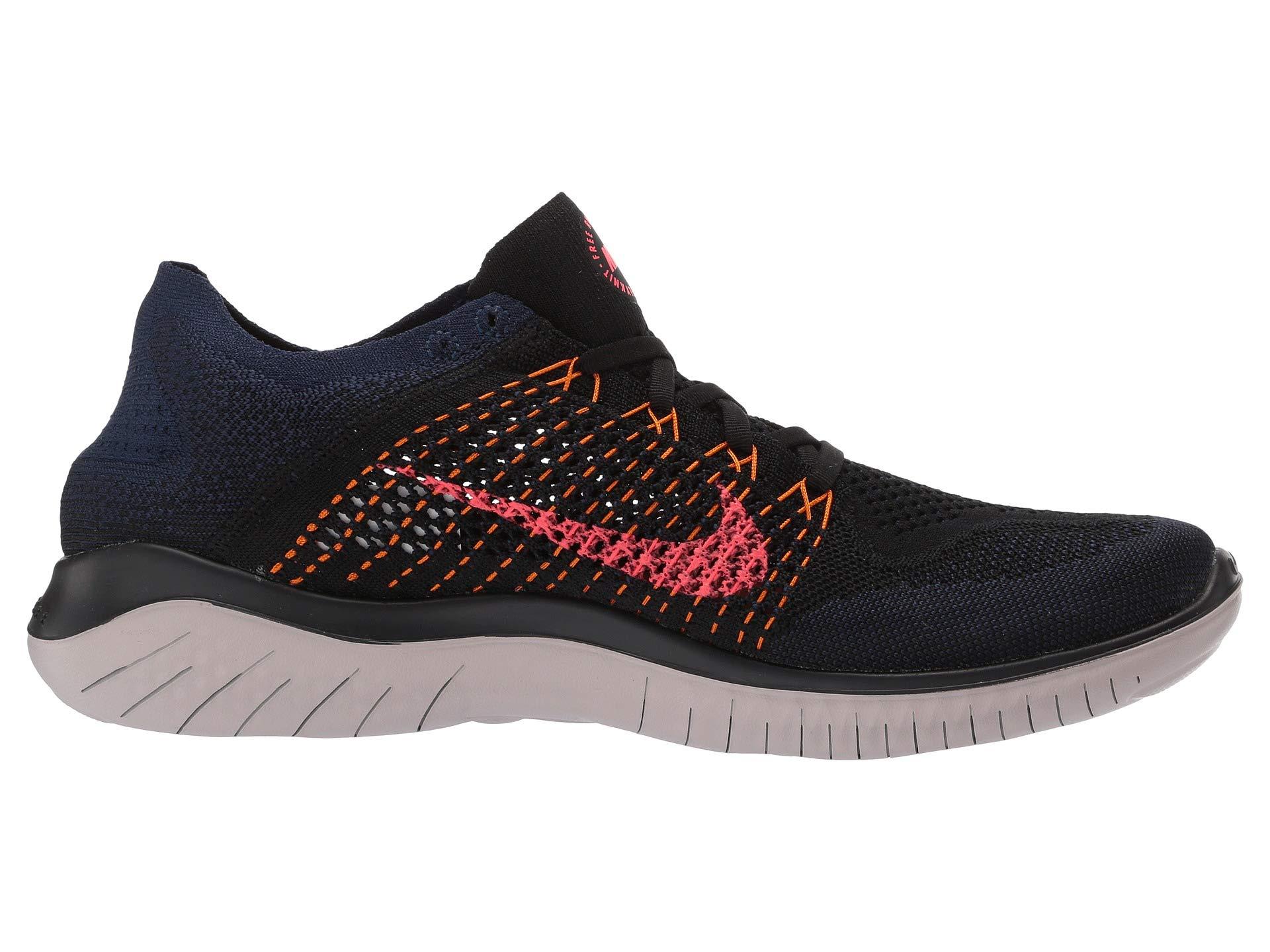 Flyknit Nike Rn flash Peel orange Black Crimson Free rTHTBRwqxE