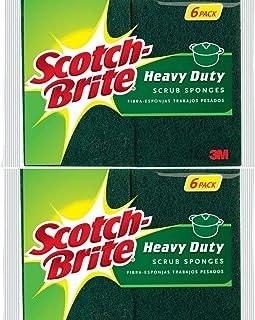 Scotch-Brite Heavy Duty Scrub Sponge, 12-Pack