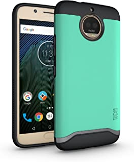TUDIA Moto G5S Plus Case, Slim-Fit Heavy Duty [Merge] Extreme Protection/Rugged but Slim..