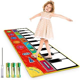 Magicfun Kids Musical Mat, Musical Piano Mat 8 Instrument So
