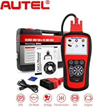 Autel Scanner MD802 Maxidiag Elite Diagnoses for ABS, Engine, Transmission, Airbag, EPB, Oil Service Reset Code Reader OBD2 Diagnostic Tool