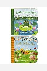 Pack Chunky Lift-a-Flap Board Books: Little Yellow Bee/Little Green Frog Lift-a-Flap Books (Babies Love) Board book