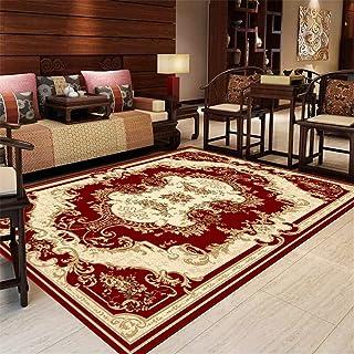 vloerkleden woonkamer tapijten voor woonkamer woonkamer tapijt studeerkamer decoratie vintage rechthoek rood bruin decorat...