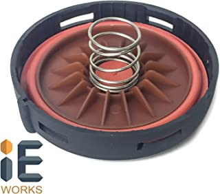 Valve Cover Cap Lid Oil Air Vapor Separator (AOS) Diaphragm Seal Membrane Replacement Repair Kit for 2003-2010 (Porsche Cayenne) 9PA V8 4.5L 4.8L Engine 94810513207 Turbo S 94810513107 955 957