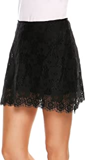 Best scalloped lace pencil skirt Reviews