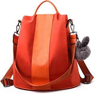 Women Backpack Purse Waterproof Nylon Schoolbags Anti-theft Rucksack Shoulder Bags