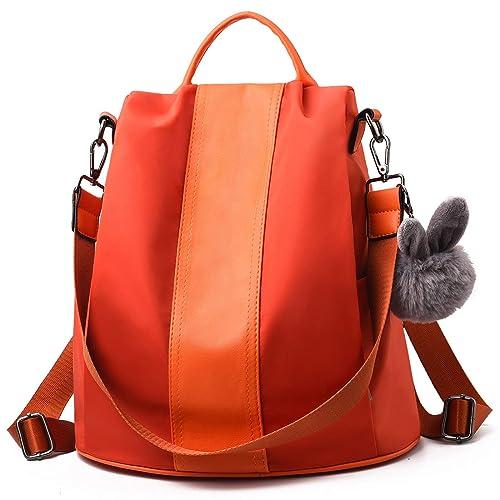 a9c8f5cd4d Charmore Women Backpack Ladies Rucksack Waterproof Nylon School bags  Anti-theft Dayback Shoulder Bags