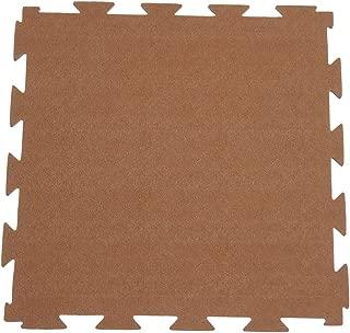 Rubber-Cal Terra-Flex 互锁地板橡胶瓷砖(10 块装)