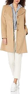 معطف صوف للنساء من Larry Levine ذو جزء واحد من الصدر