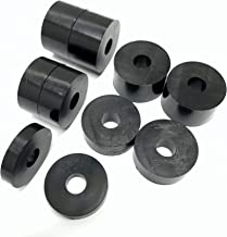 4 x 6mm Aluminium Washer//Spacer  25.4mm id x 50mm ID