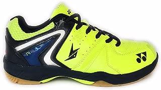 Yonex Unisex Lime Green/Blue Badminton Shoes -9 UK