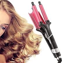 Jumbo 3 Barrel Hair Waver for Deep Waves (Red)