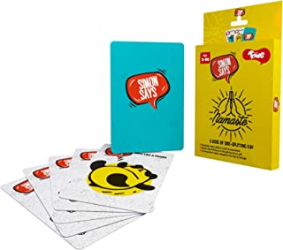 Toiing Simon Says - Activity Card Game | Fun Party Game for Kids | Age 3+ Years | Travel Friendly | Great for Return Gifts