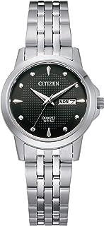 Citizen Women's Quartz Stainless Steel Strap, Silver, 14 Casual Watch (Model: EQ0601-54F)