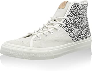Vans Sk8-Hi Decon Men Round Toe Canvas Black Skate Shoe