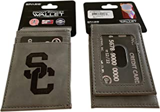 USC Grey Front Pocket Wallet
