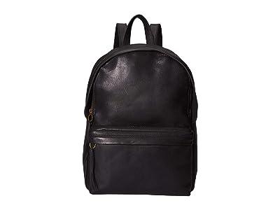 Madewell Lorimer Backpack (True Black) Backpack Bags