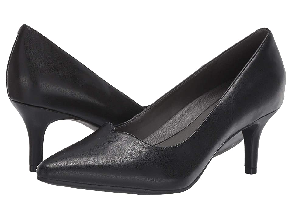 Pin Up Shoes- Heels, Pumps & Flats A2 by Aerosoles Anagram Black Dakota Womens 1-2 inch heel Shoes $69.99 AT vintagedancer.com