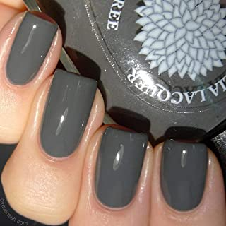 Dove Gray Corsage | Grey Creme Nail Polish | Cream Varnish | by Black Dahlia Lacquer